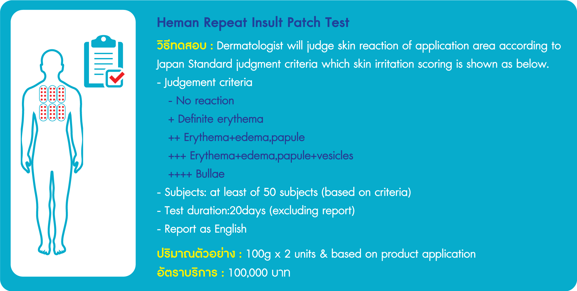 Heman Repeat Insult Patch Test
